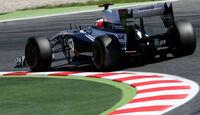 Maldonado GP Spanien 2011