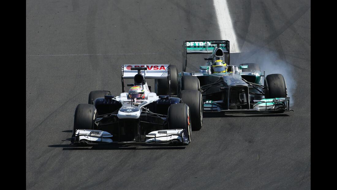 Maldonado - GP Ungarn 2013