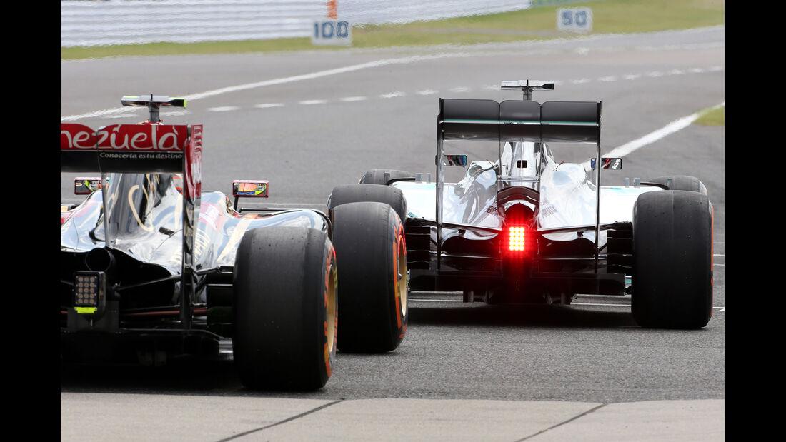Maldonado & Hamilton - Formel 1 - GP Japan - 3. Oktober 2014