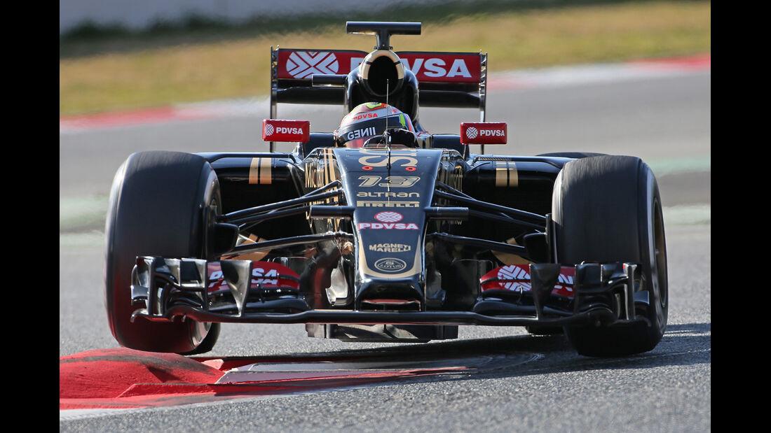 Maldonado - Lotus - Barcelona Test 2 - 2015