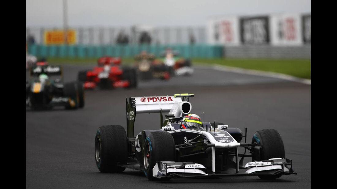 Maldonado - Noten - GP Ungarn - Formel 1 - 31.7.2011
