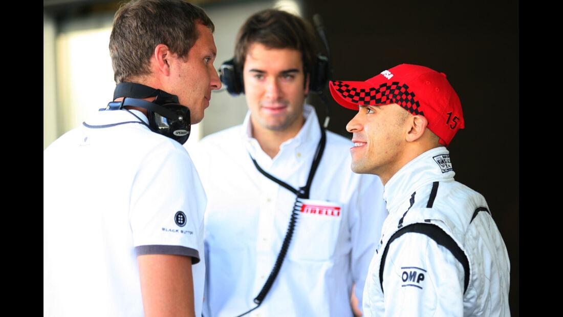 Maldonado - Pirelli Test