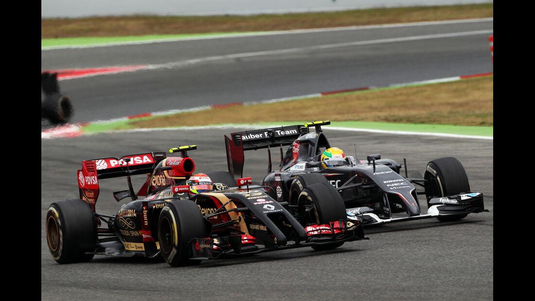 Maldonado vs. Gutierrez - GP Spanien 2014
