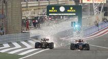 Maldonado vs. Verstappen - GP Bahrain 2015