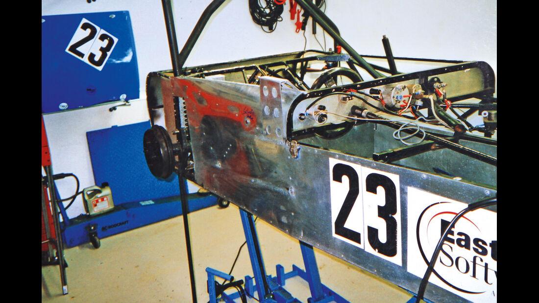 Mallock U2 MK 6, Patina, Chassis