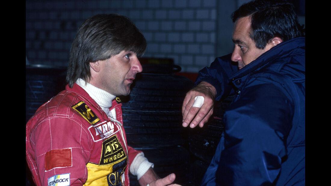 Manfred Winkelhock - Paul Rosche - GP Deutschland 1983 - Formel 1