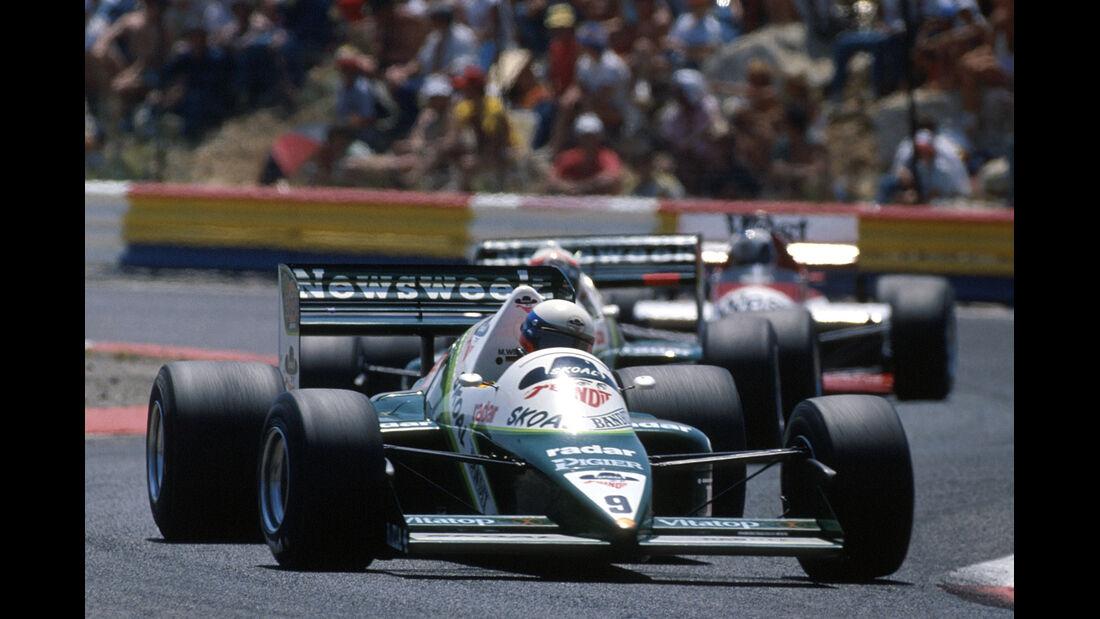 Manfred Winkelhock - RAM Hart 03 Turbo - Formel 1 - 1985