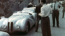 Mannschaft vom I. Gran Premio Brescia delle Mille Miglia, 28.04.1940
