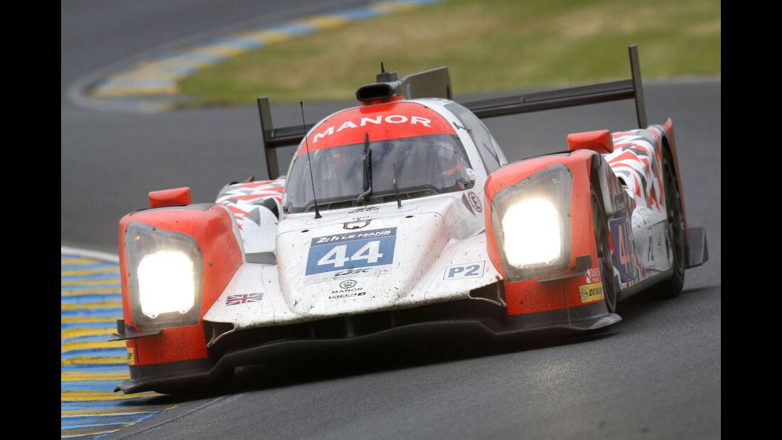 Manor - #44 - 24h Le Mans - Sonntag - 19.06.2016