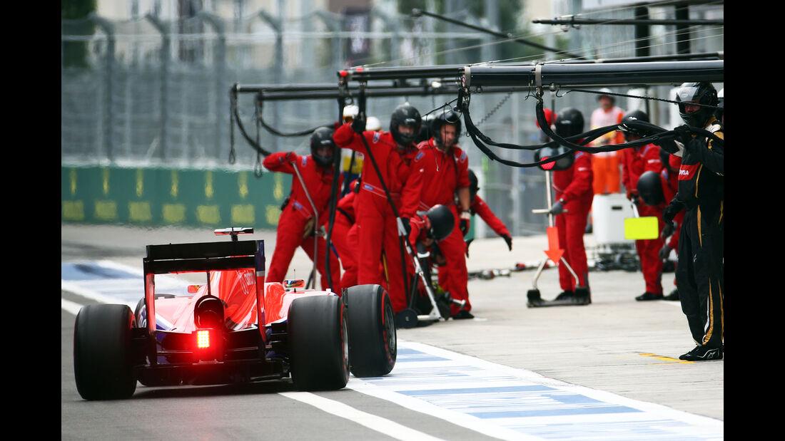 Manor - Boxenstopp - Formel 1 - 2015