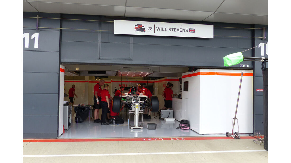 Manor F1 - GP England - Silverstone - Donnerstag - 2.7.2015