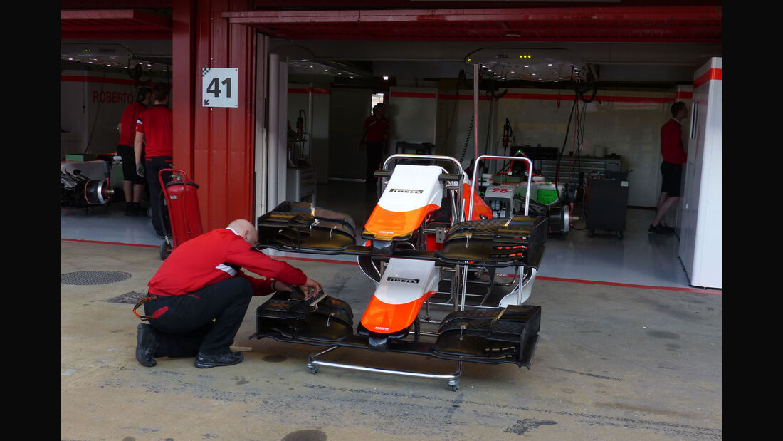 Manor F1 - GP Spanien - Barcelona - Freitag - 8.5.2015
