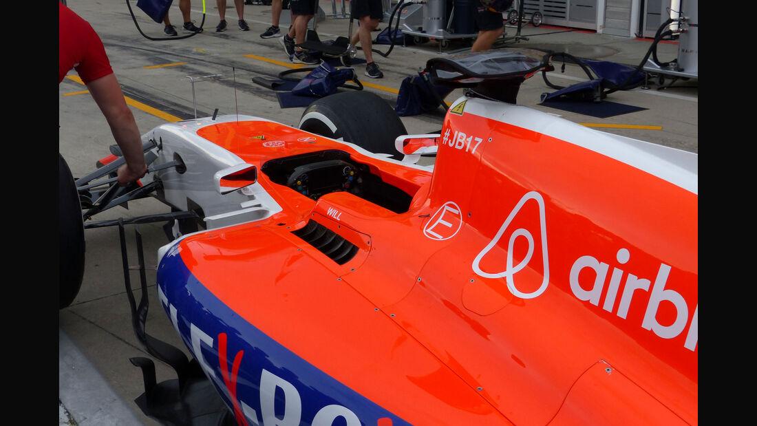 Manor F1 -  GP Ungarn - Budapest - Donnerstag - 23.7.2015