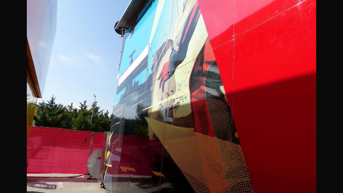 Manor F1 - Motorhome - GP Spanien 2015 - Barcelona