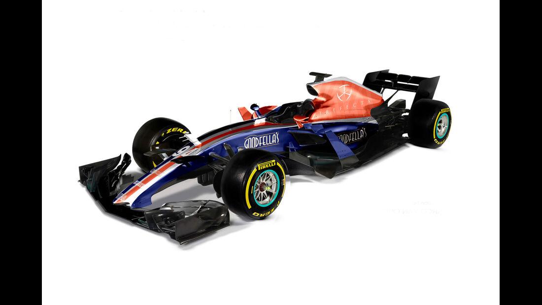 Manor - Formel 1 2017 - Designs - Sean Bull