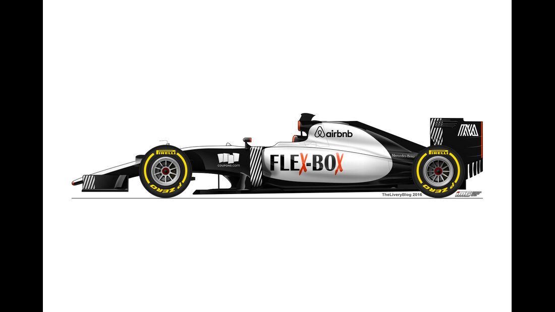 Manor - Formel 1 Design Concepts 2016
