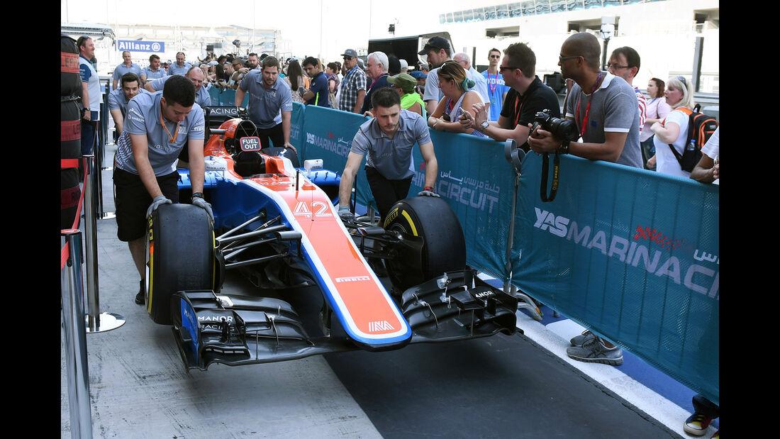Manor - Formel 1 - GP Abu Dhabi - 24. November 2016