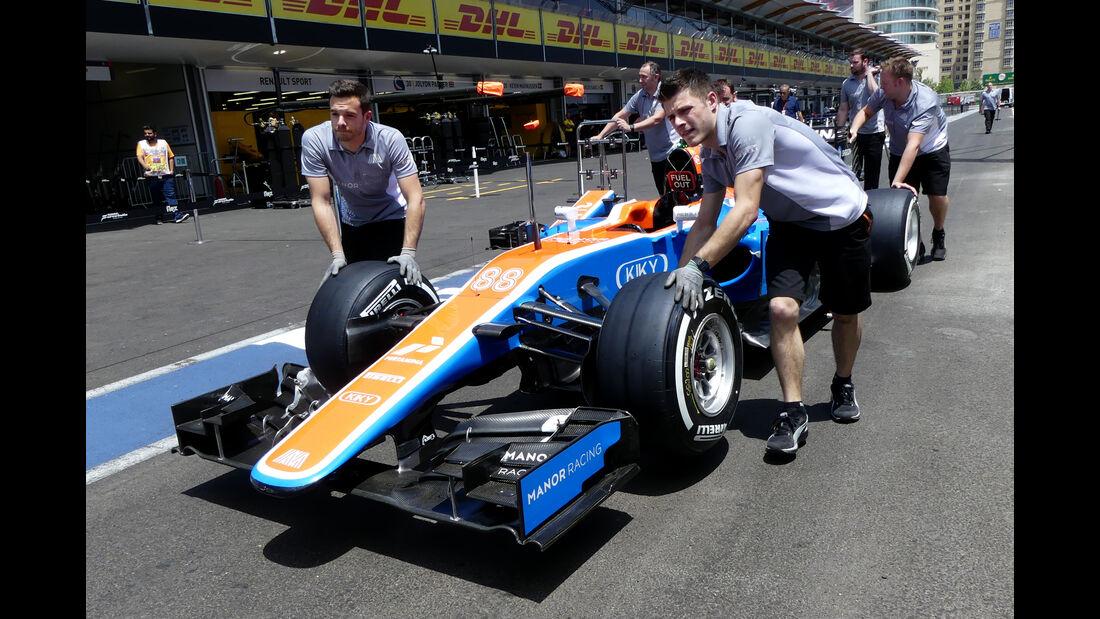 Manor - Formel 1 - GP Aserbaidschan - Baku - 16. Juni 2016