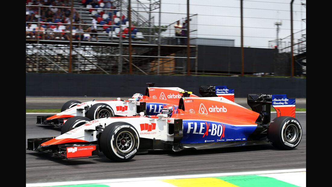 Manor - Formel 1 - GP Brasilien- 15. November 2015