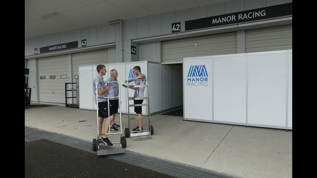 Manor - Formel 1 - GP Japan - Suzuka - Mittwoch - 5.10.2016