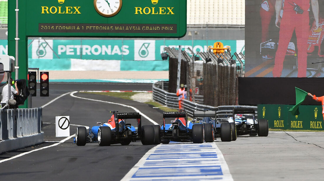Manor - Formel 1 - GP Malaysia - Freitag - 30.9.2016