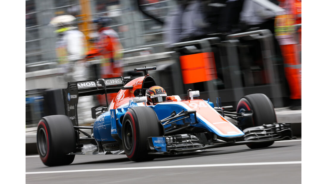 Manor - Formel 1 - GP Mexiko 2016