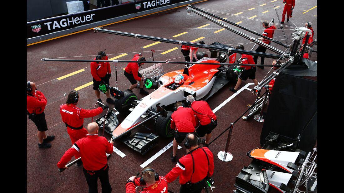 Manor  - Formel 1 - GP Monaco - Donnerstag - 21. Mai 2015