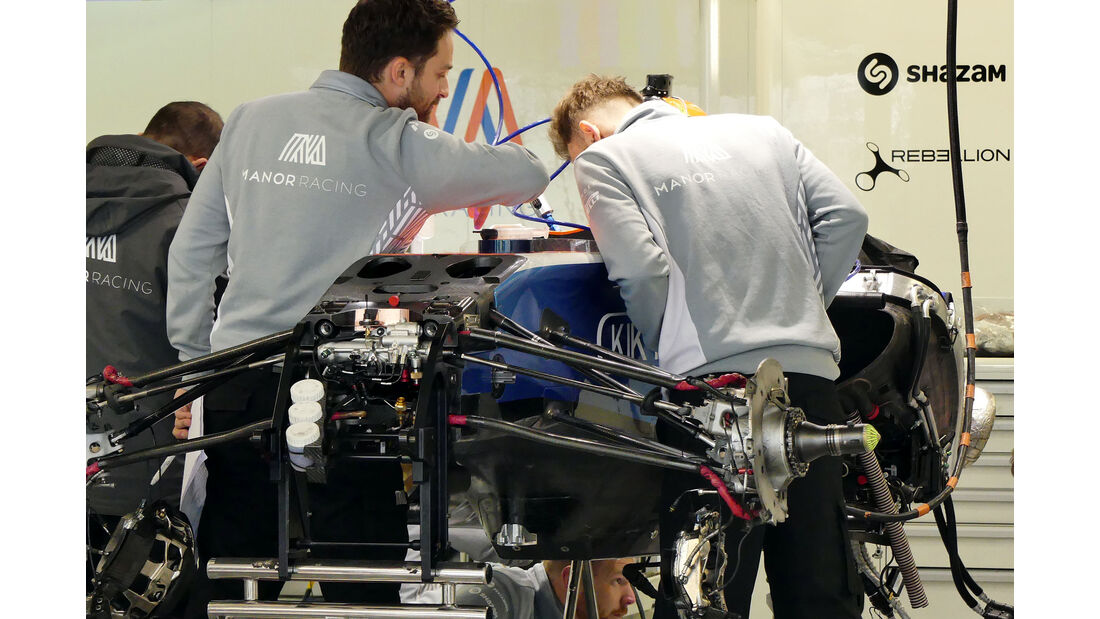 Manor  Formel 1 - GP Russland - 27. April 2016