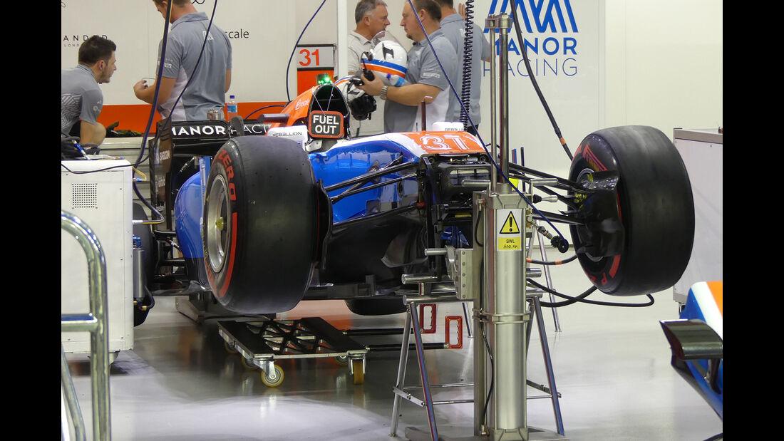 Manor - Formel 1 - GP Singapur - 14. September 2016