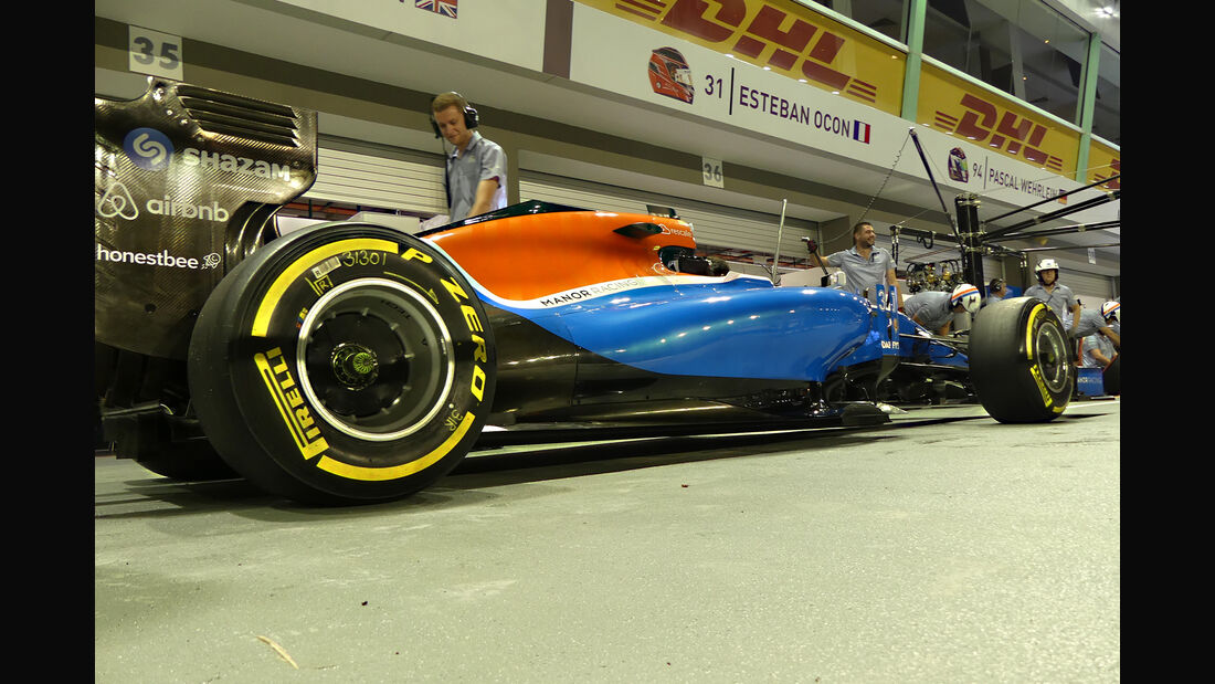 Manor - Formel 1 - GP Singapur - 14. September 2016