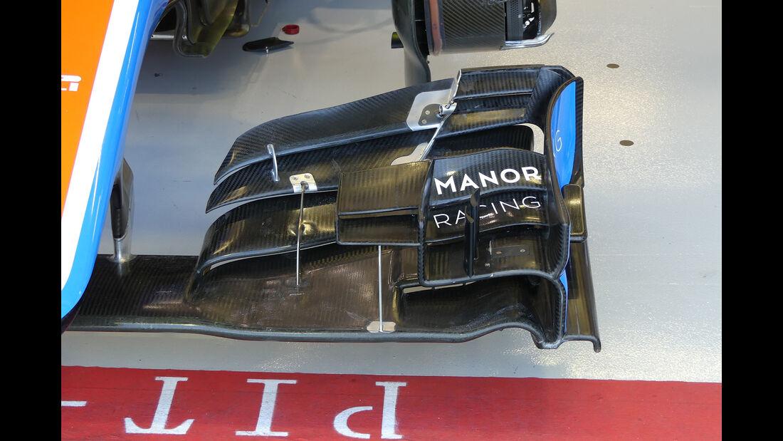 Manor - Formel 1 - GP Singapur - 16. September 2016