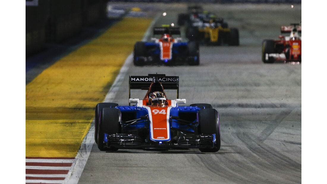 Manor - Formel 1 - GP Singapur - 2016