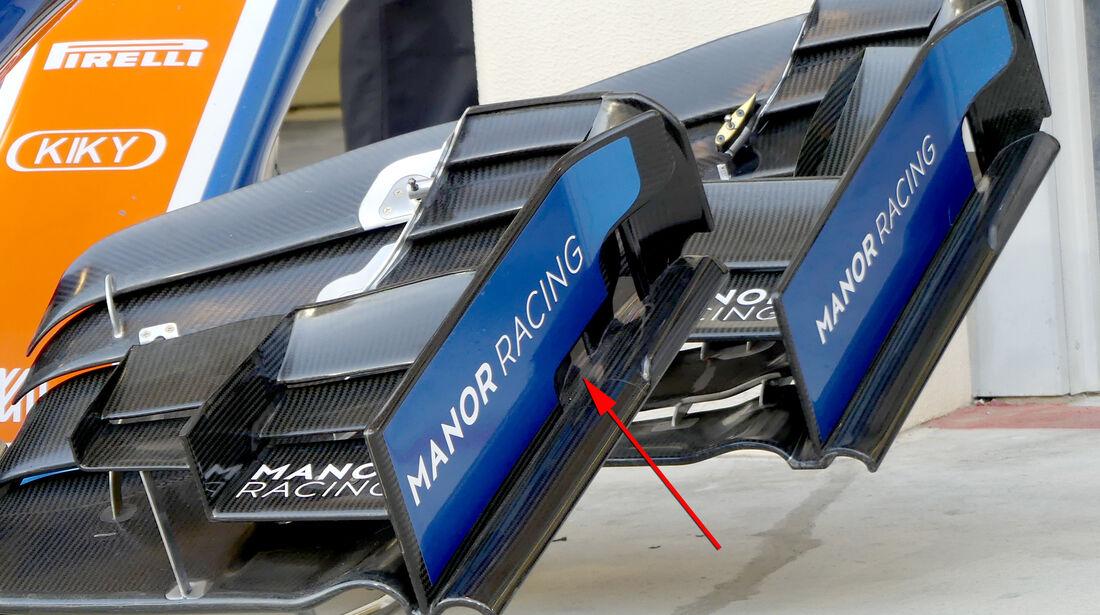 Manor - Formel 1 - Technik - GP Bahrain 2016