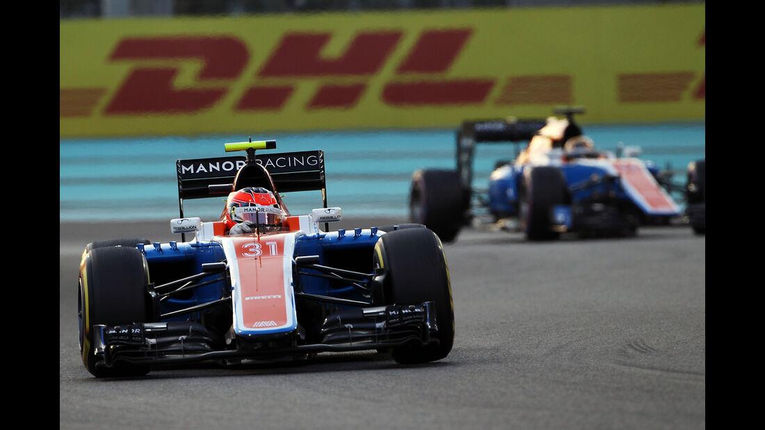 Manor - GP Abu Dhabi 2016