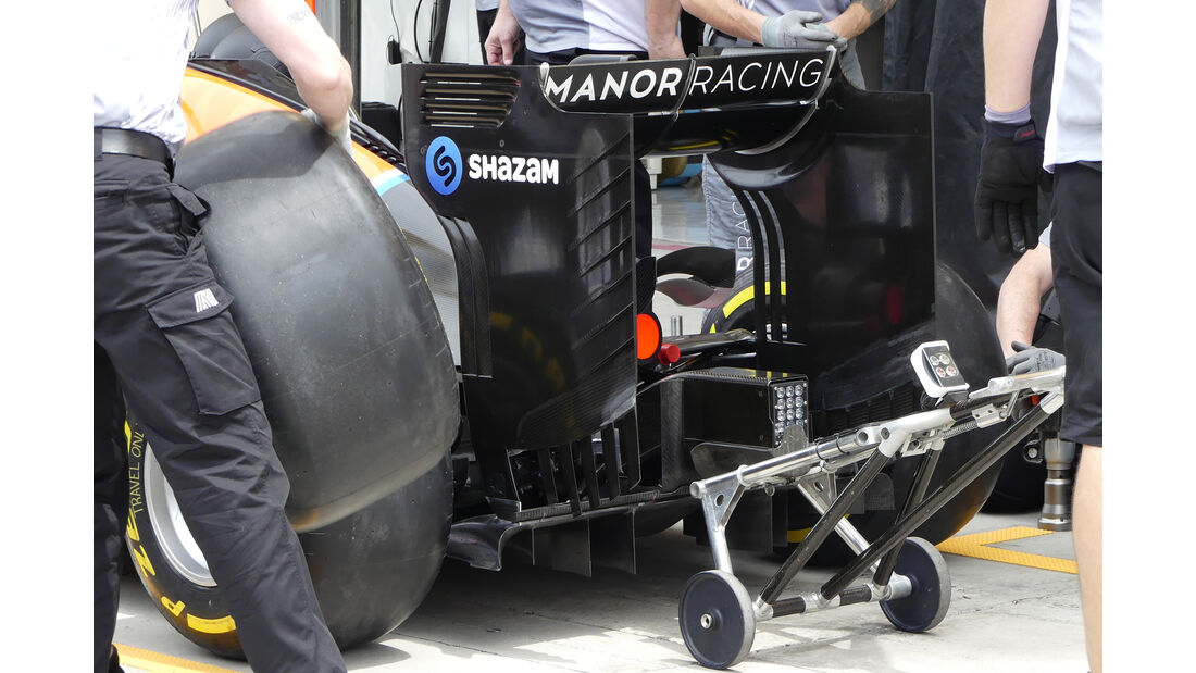 Manor - GP Bahrain - Formel 1 - 1. April 2016