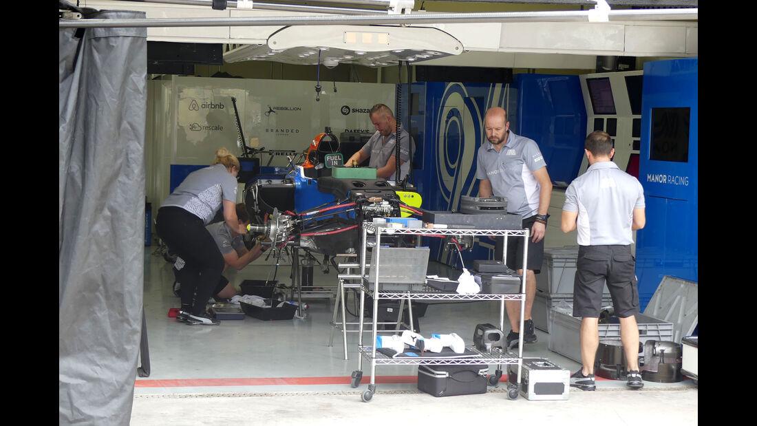 Manor - GP Brasilien 2016 - Sao Paulo - Interlagos - Mittwoch - 9.11.2016