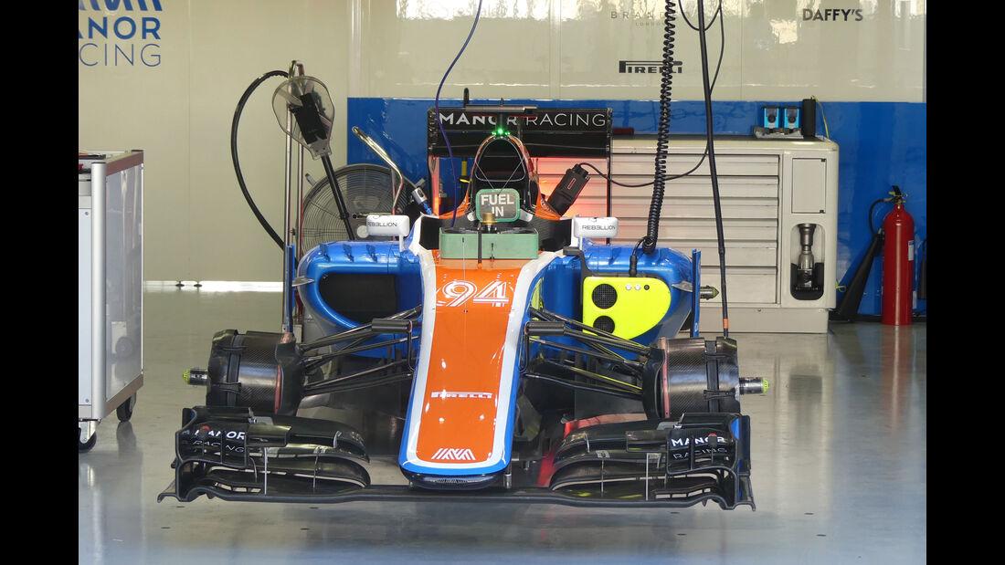 Manor - GP Brasilien - Interlagos - Freitag - 11.11.2016