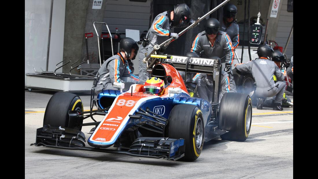 Manor - GP China 2016