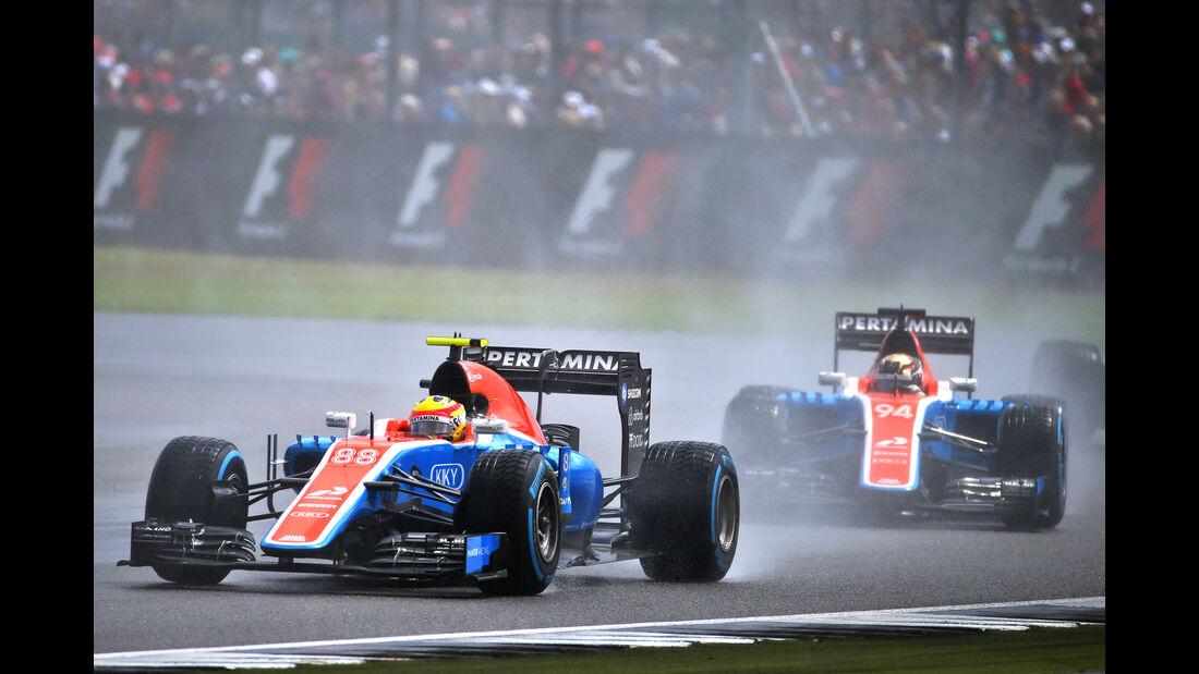 Manor - GP England - Formel 1 - 2016