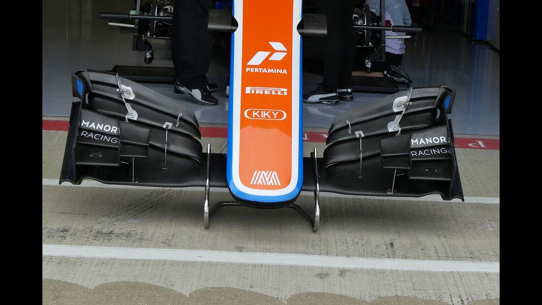 Manor - GP England - Silverstone - Formel 1 - Donnerstag - 7.7.2016