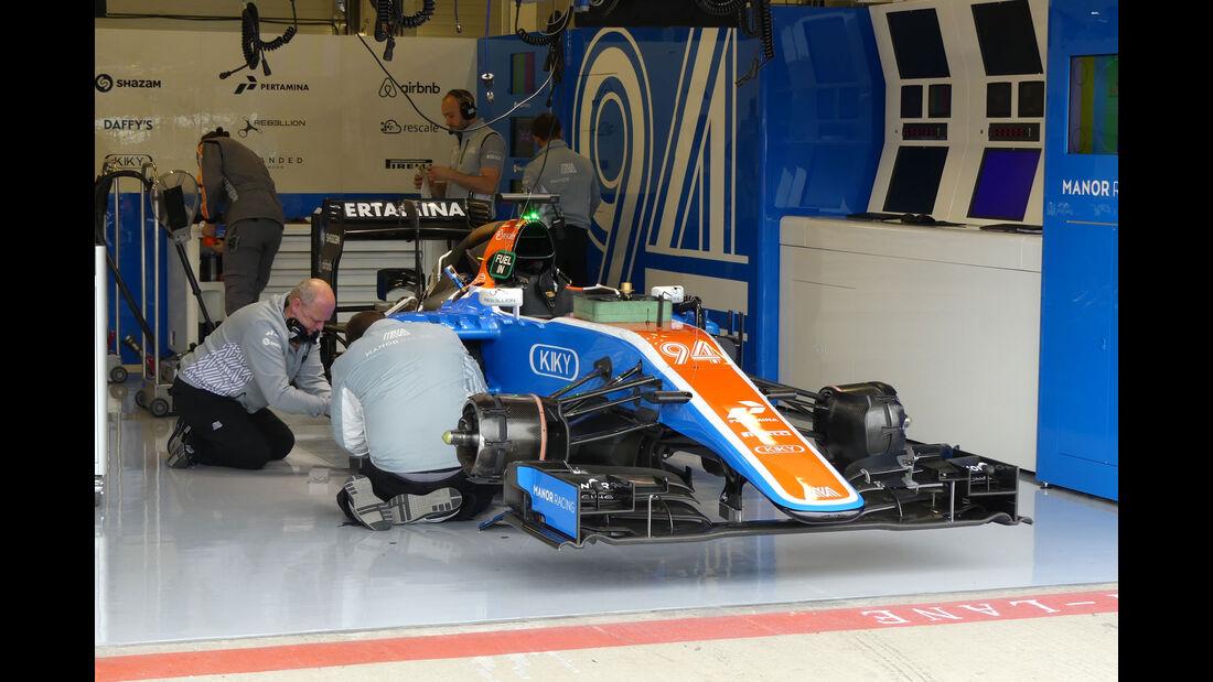 Manor -  GP England - Silverstone - Formel 1 - Freitag - 8.7.2016