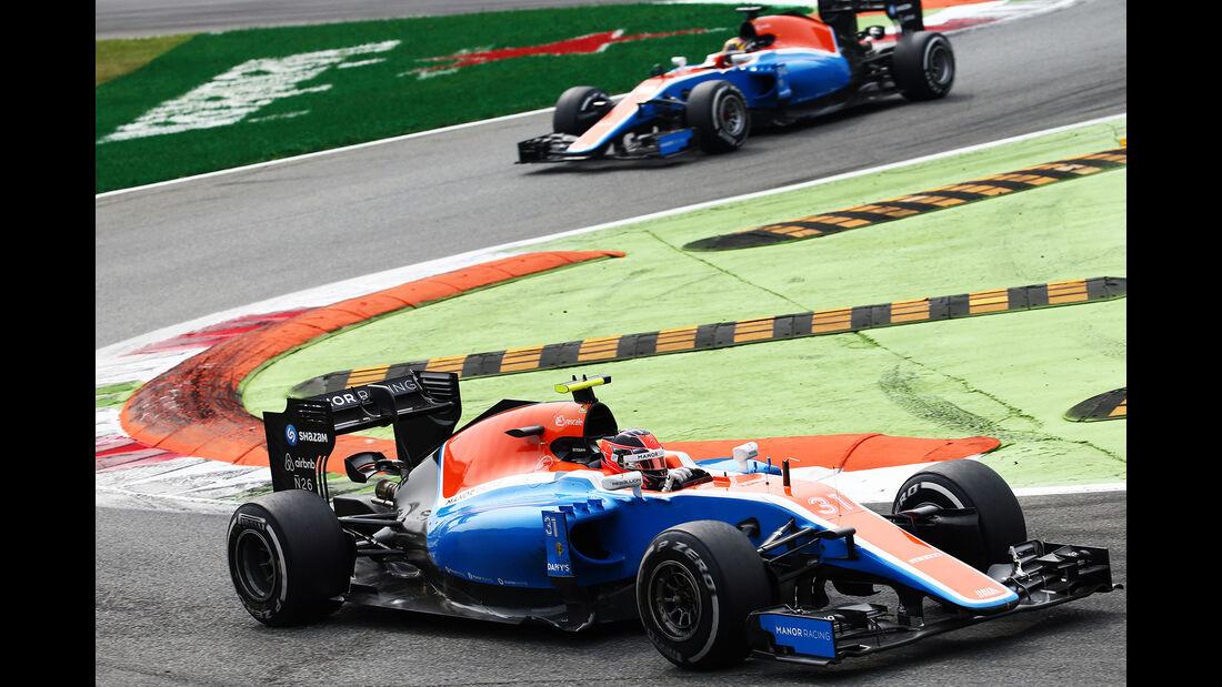 Manor - GP Italien 2016