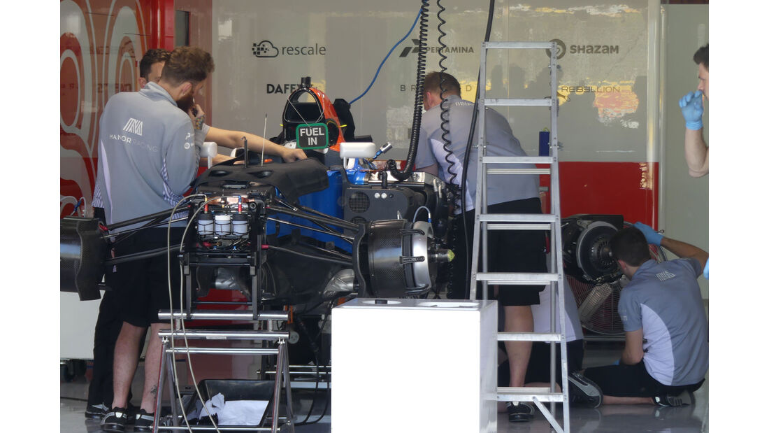 Manor - GP Spanien - Circuit de Barcelona-Catalunya - Mittwoch - 11. Mai 2016