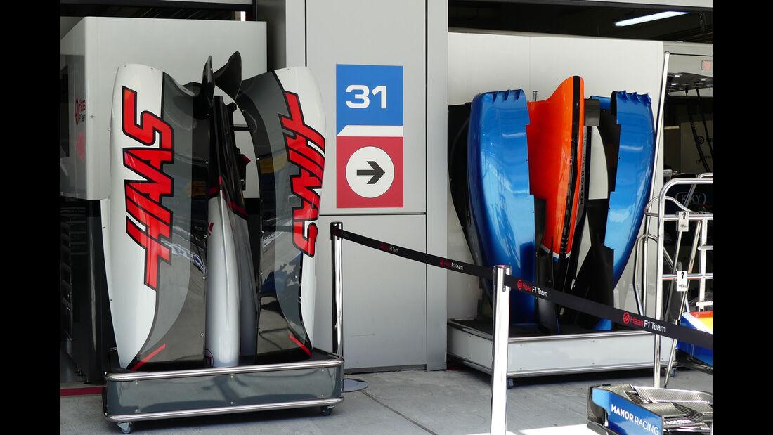 Manor - Haas F1 - Formel 1 - GP Russland - 28. April 2016