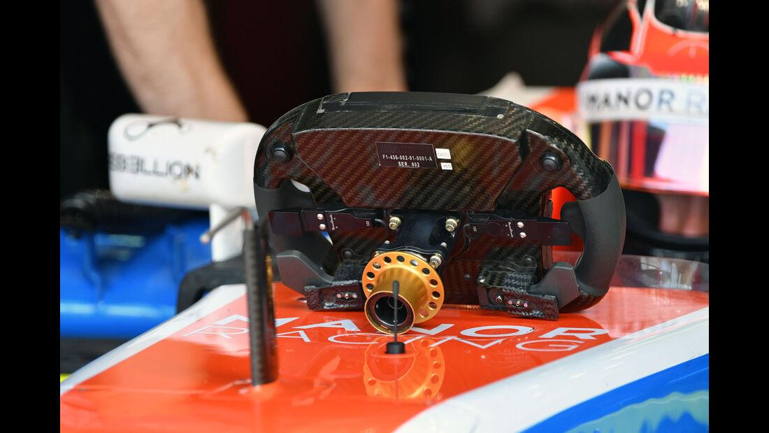 Manor - Lenkrad - F1 2016