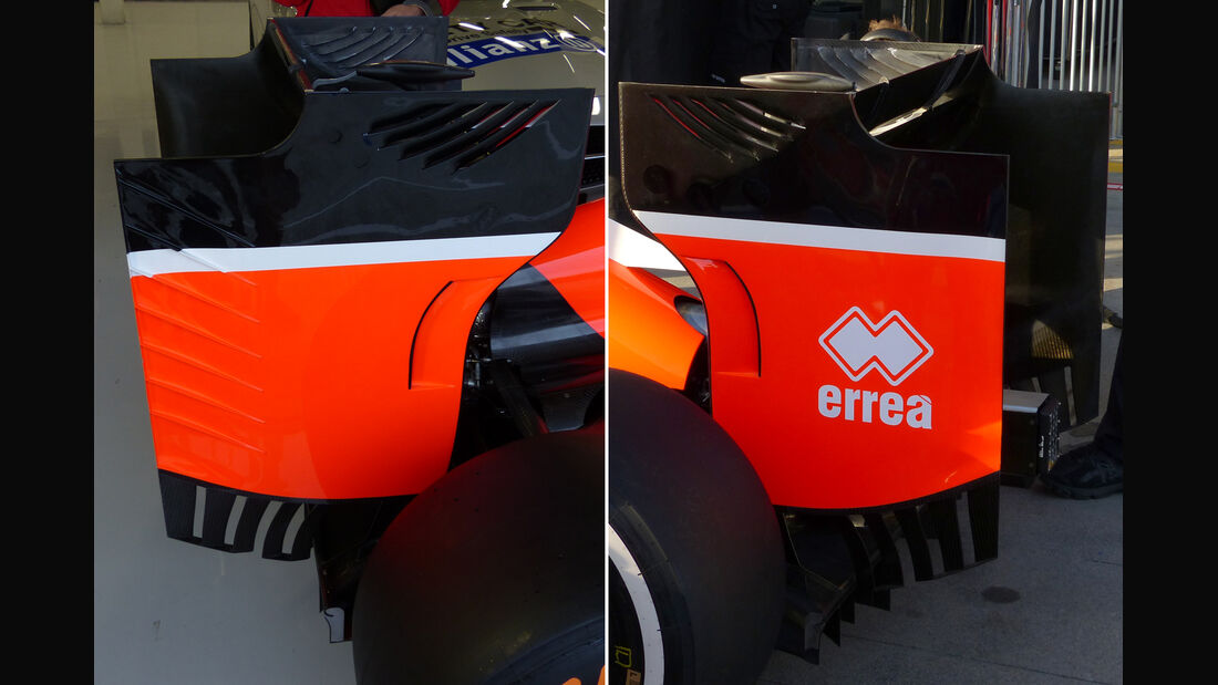 Manor Marussia - F1 Technik - GP England 2015