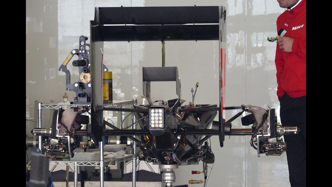 Manor Marussia - Formel 1 - GP China - Shanghai - 8. April 2015