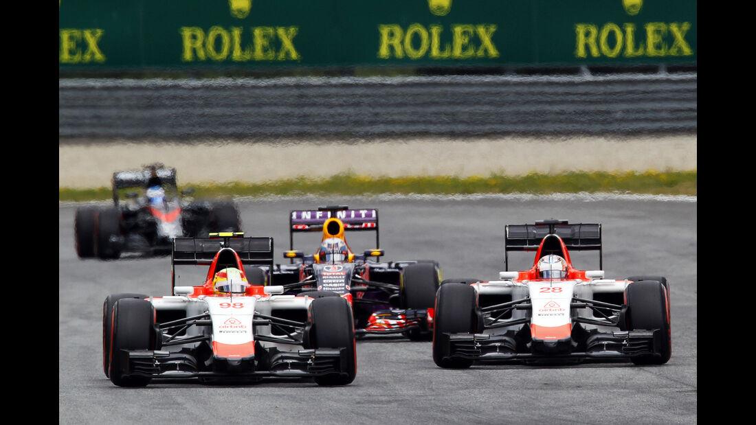 Manor Marussia - Formel 1 -  GP Österreich 2015