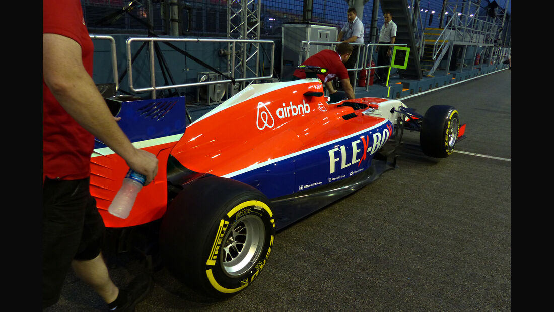 Manor Marussia - Formel 1 - GP Singapur - 17. September 2015