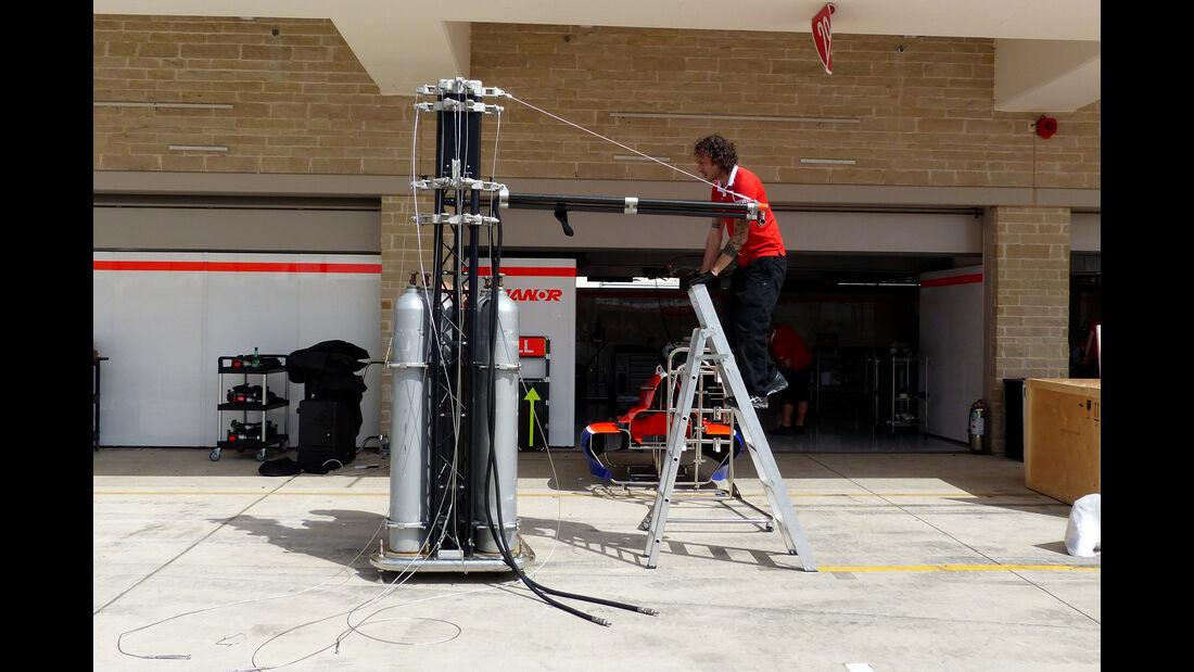 Manor Marussia - Formel 1 - GP USA - Austin - 21. Oktober 2015